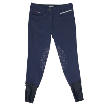 Iago Venezia Knee Grip Breeches in Navy