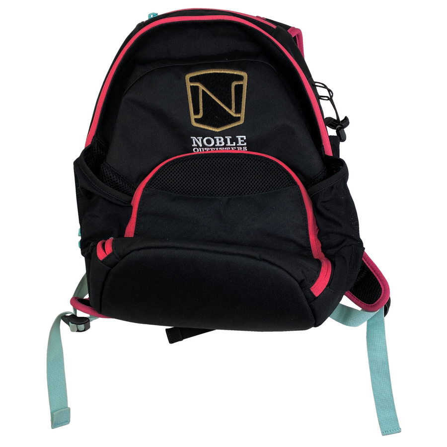 Noble Equestrian Horseplay Backpack in Black/Pink - One Size