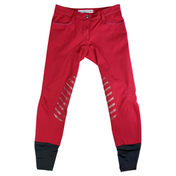 Animo Breeches in Red - Women's IT 38 (US 24)