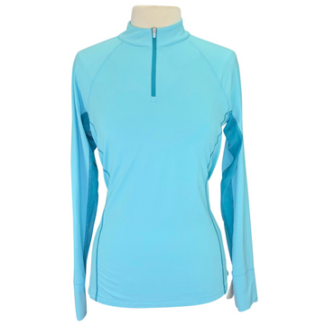 Noble Outfitters Ashley Performance Long Sleeve in Antiiqua/Dark Sea Blue