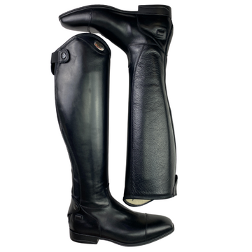 Parlanti Aspen Pro Dress Boots in Black - Women's IT 38 X-Wide/Med (US 7)