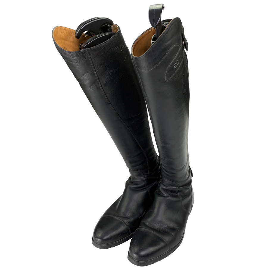 Side of EGO7 Aries Dress Boots in Black