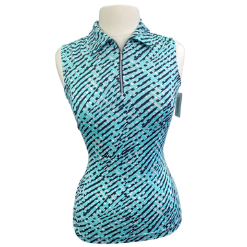 Tail White Label Sleeveless Top in Teal Multi