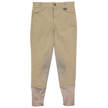 Dublin Knee Patch Breeches in Tan