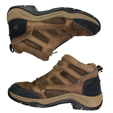 Side view of Ariat Outdoor Gore-Tex Shoes in Brown