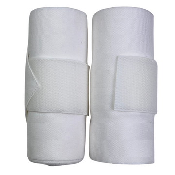 EquiPro Standing Bandages in White - Regular