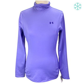 Under Armour Mockneck Baselayer in Purple