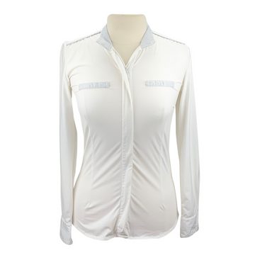 Alessandro Albanese Long Sleeve Show Shirt in White