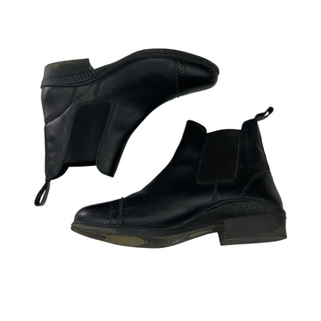 Ovation Slip-On Paddock Boots in Black