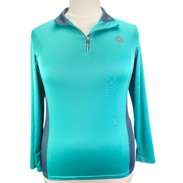 Horseware Tech Top in Teal/Grey
