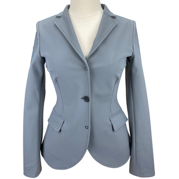 Cavalleria Toscana Stretch Band Show Coat in Light Grey - Women's US 8
