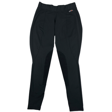 Kerrits Flow Rise Knee Patch Performance Tight in Black