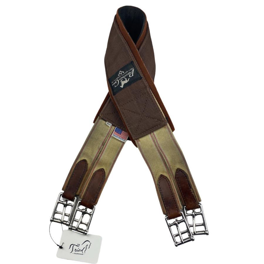 Professional's Choice SMx English Girth in Brown