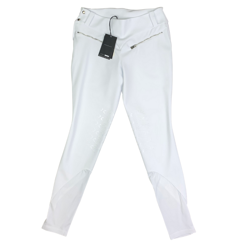 Reigns 'The Finja' Breeches in White
