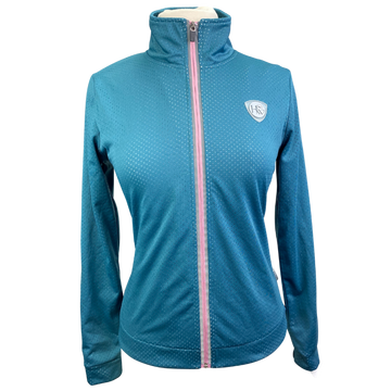 Horseware Ventilated Jersey Jacket in Teal/Orchid
