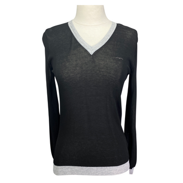 Animo 'Saku' Sweater in Black/Grey Accents - Women's Small