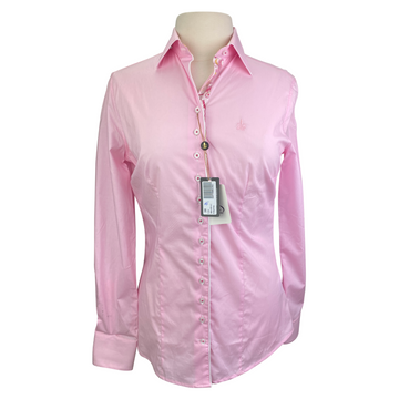 Fior Da Liso 'Lisa' Shirt in Pink - Women's Medium