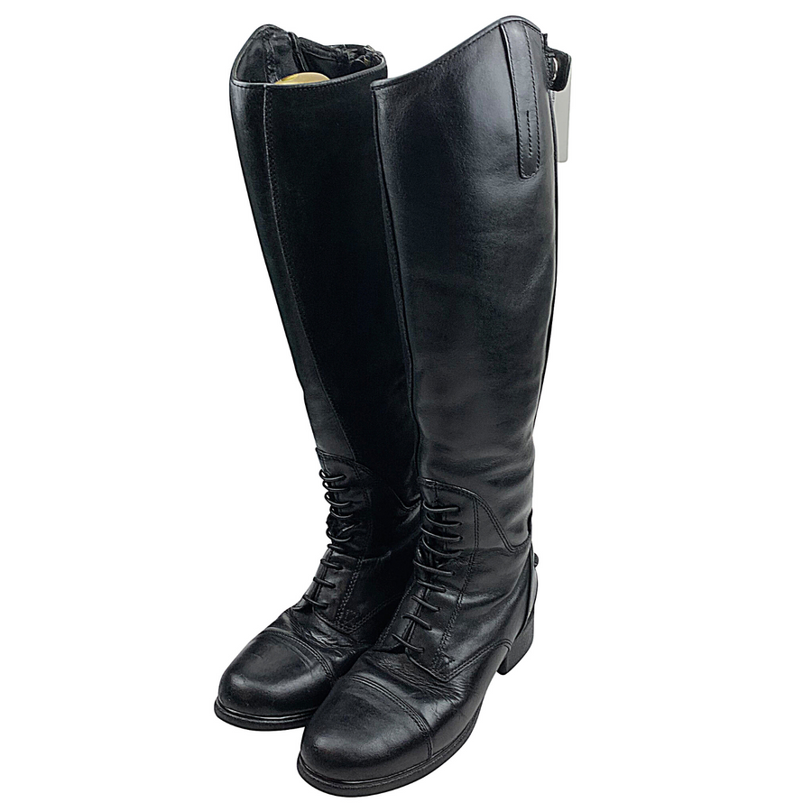 Standing up of Ariat Primaloft Insulated Tall Boots in Black