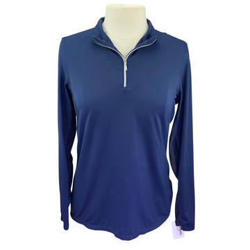 Dover Saddlery CoolBlast IceFil Long Sleeve Shirt in Navy