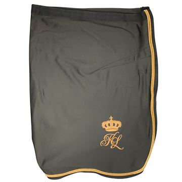Kingsland Microfleece Show Cooler in Brown Licorice  - 6'6 (145 cm)