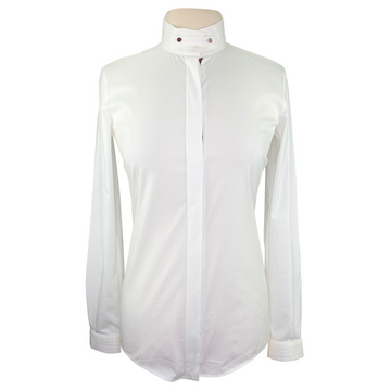 Gucci Long Sleeve Show Shirt in White