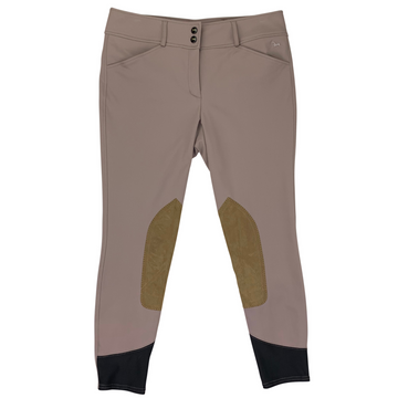 RJ Classics Gulf Front Zip Breeches in Sand
