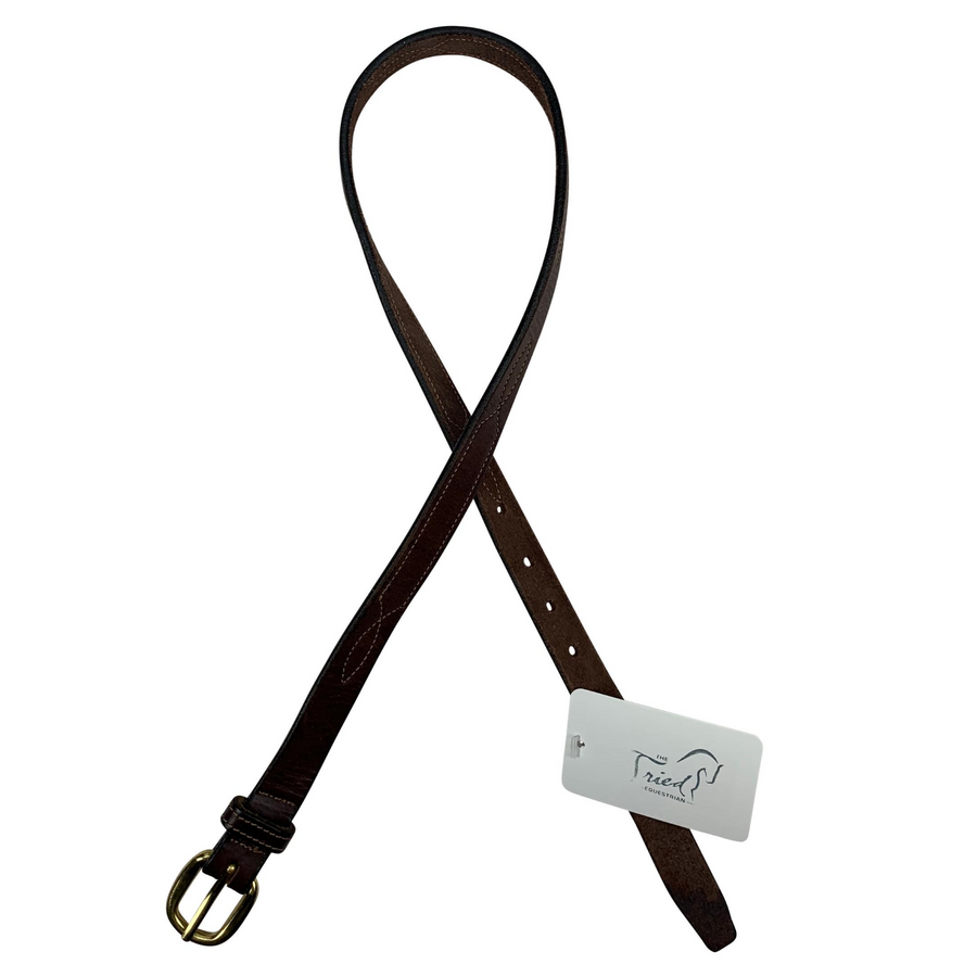 Tory Leather Belt in Brown