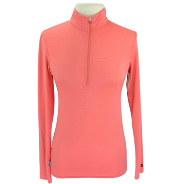 Kerrits Ice Fil Flex Long Sleeve Shirt in Pink