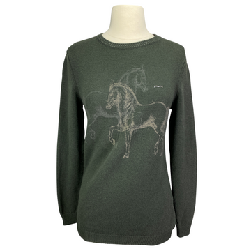 Animo 'Saci' Sweater in Olive - Women's Small