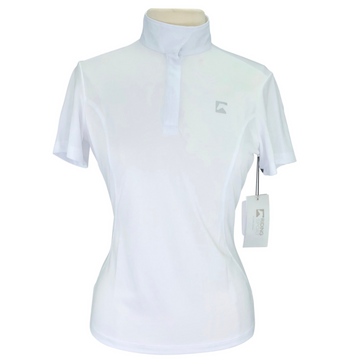 Riding Sport Essential Short Sleeve  in White