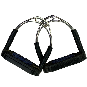 Herm Sprenger Bow Balance Stirrup Irons in Black