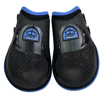 Veredus Carbon Gel Vento Ankle Boots in Black/Blue - Large