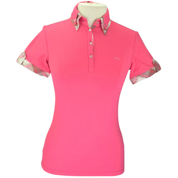 Animo BILLA Short Sleeve Polo in Pink
