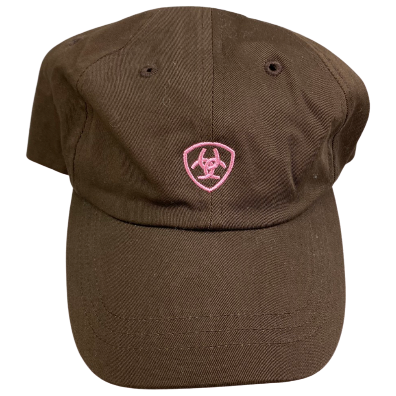 Ariat Cap in Brown/Pink