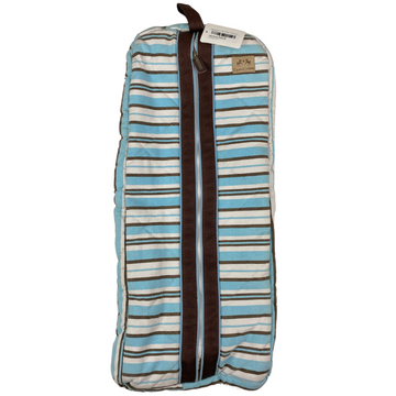 Equine Couture Bridle Bag in Teal Stripes - One Size