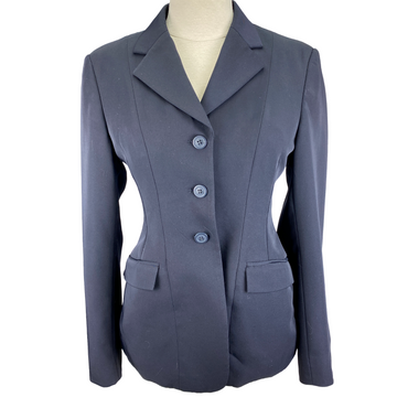 RJ Classics Xtreme Washable Show Coat in Navy - Women's 2 Short