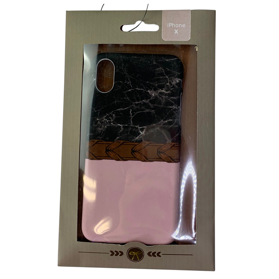 Spiced Equestrian Phone Case in Laced Blush