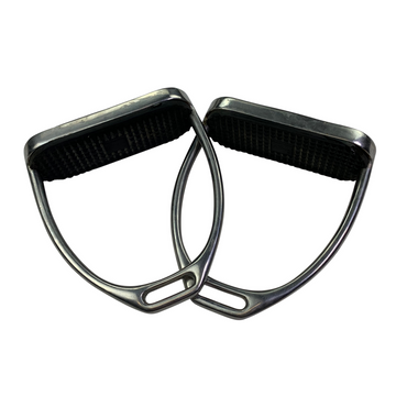 Stubben Stirrup Irons in Stainless Steel