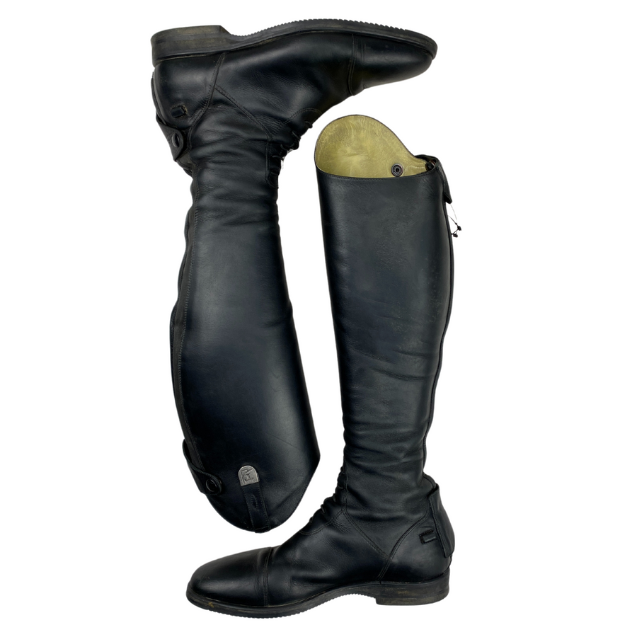 Side of Tucci Galileo Field Boots in Black