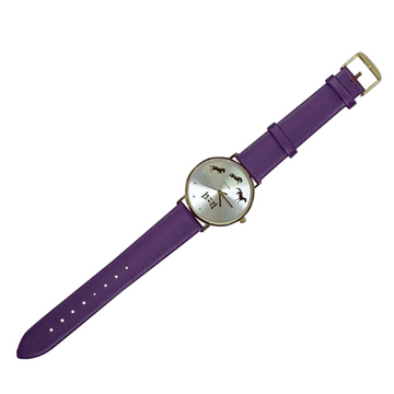 Spiced Equestrian Watch in Purple