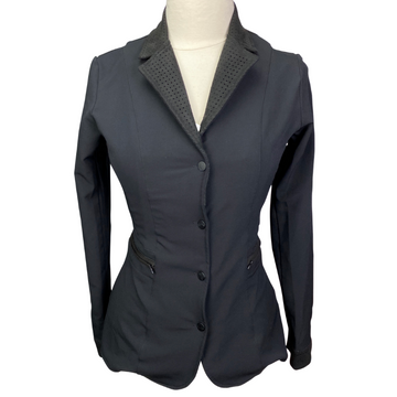 Equine Couture Oslo Show Jacket in Black - Women's Medium