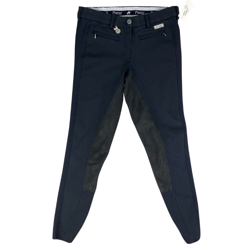 Pikeur Nanette Full Seat Breeches in Black.