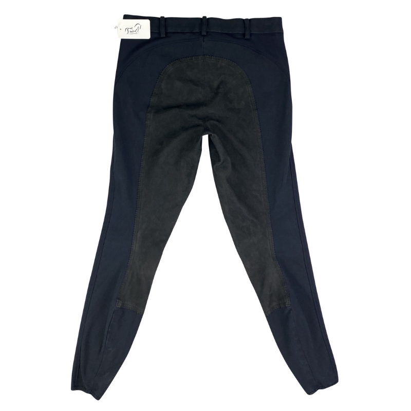 Back of Pikeur Nanette Full Seat Breeches in Black.