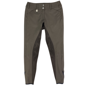 Pikeur Cindy Full Seat Breeches in Brown.