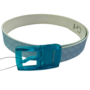 C4 Belt in Blue/Horseshoes