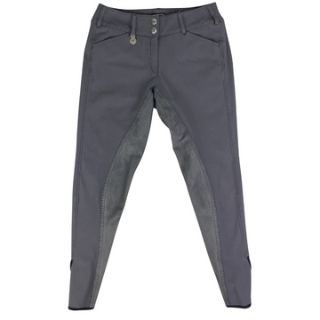 Pikeur Cindy Full Seat Breeches in Grey.