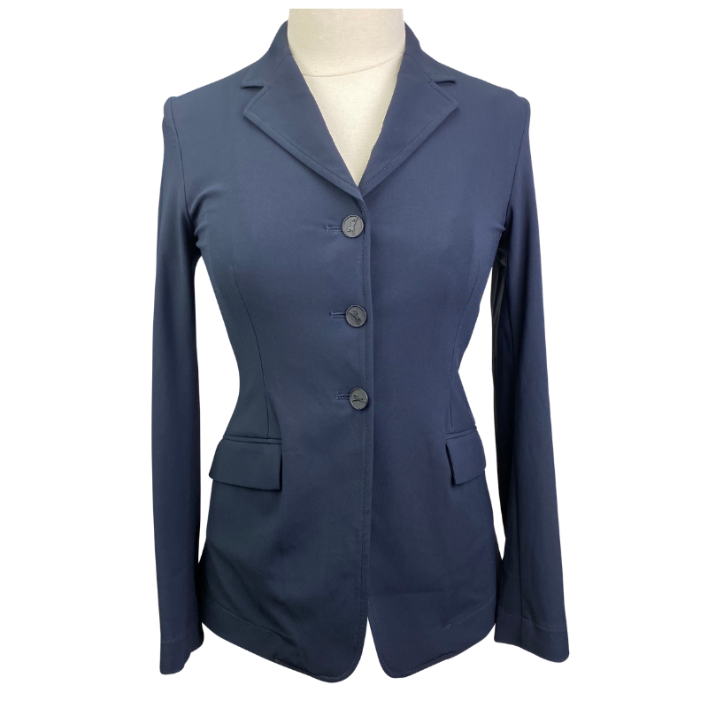 RJ Classics Orange Label Victory Show Jacket in Navy - Women's 2 Short