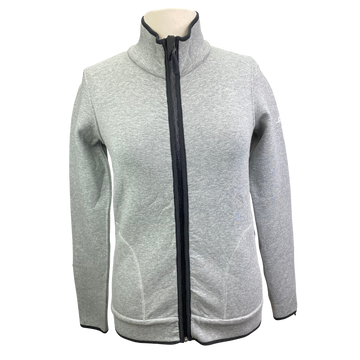 AA Platinum Respira Reversible Jacket in Heather Grey/Charcoal - Women's Small