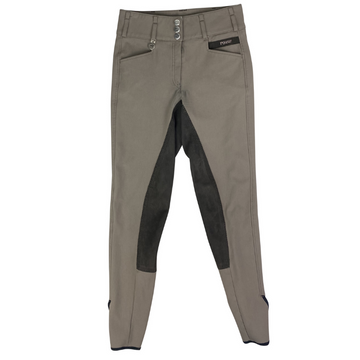 Pikeur Candela Contrast Breeches in Taupe.