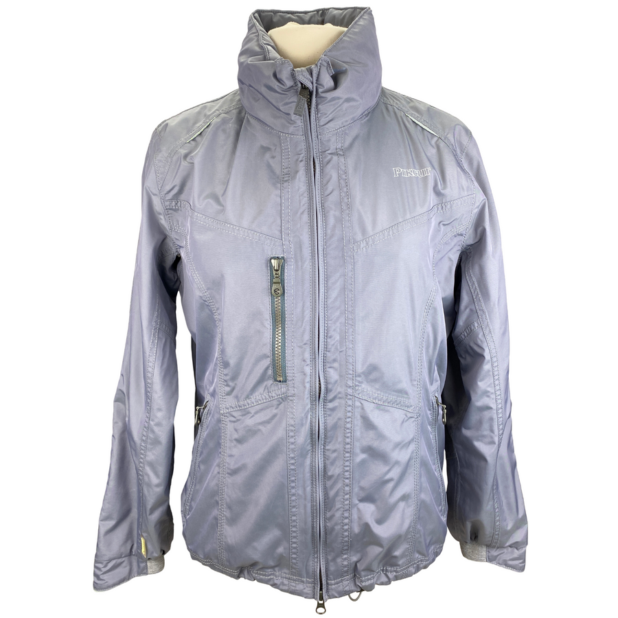 Pikeur Caress Zip-Up Jacket in Grey - Women's Large